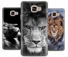 LION KING PREDATOR CAT RUBBER PLASTIC PHONE COVER CASE FOR SAMSUNG GALAXY J A