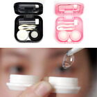 Mini Contact Lens Storage Case Box Holder Container with Tweezer Travel Kit