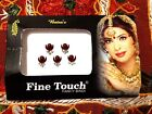 Bridal Forehead Eyebrow Tikka Bindi Maroon Crystal Assorted Tattoos Bindi Dots