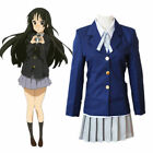 Hot K-on!!Hirasawa Yui Uniform Cosplay Nakano Azusa School Uniform Girls Costume