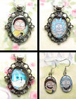 RICK AND MORTY EARRINGS OR NECKLACE CHARM PENDANT