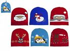 PMS Women's Men's Kid's Unisex Christmas Festive Beanie Warm Hat Hats 652003