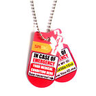 SPI Tag In Case of Emergency Necklace can Send SMS Alerts* to Your Contacts BG