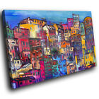SC816 impressionist painting city Scenic Wall Art Picture Large Canvas Print