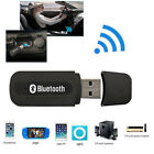 Portable Bluetooth V2.1 + EDR Stereo USB Music Audio Receiver Black