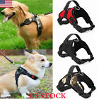 US Soft Vest Dog Puppy Pet Harness Chest Vest Collar Lead Leash Strap Adjustable