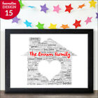 Personalised New Home Gifts Housewarming New Home Family Gifts Keepsake Present