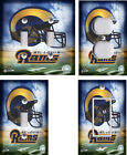 NFL - St. Louis Rams - Light Switch Covers Home Decor Outlet on eBay