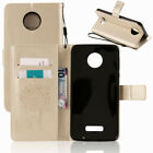 For Motorola Moto Phone Luxury Hybrid Leather Case Shockproof Wallet Card Cover