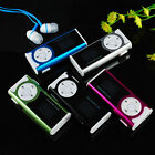 Mini USB Clip MP3 Music Media Player LCD Screen Support 32GB Micro SD TF Card HE