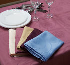 Swirl Tablecloth Gold & Rose/Pink Oblong 6-8 150cmx230cm 100% Polyester EasyCare
