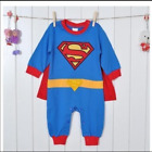 Baby Toddler Fancy Dress Party Costumes Super Hero Jumper Gift Size 3-24months