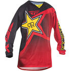 Fly Racing Kinetic Rockstar Racewear MX Motocross Offroad Mesh Jersey