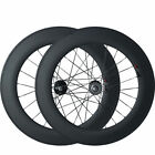 High Performance 88mm Clincher Carbon Wheels Track Fixed Gear Wheel Wheelset