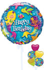Happy Birthday Mermaids - Inflated Birthday Helium Balloon Delivered in a Box