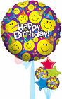 Smiley Party - Inflated Birthday Helium Balloon Delivered in a Box