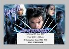 Personalised X-Men Heroes Inspired Party Invitations (Various Designs)