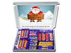CHRISTMAS CHOCOLATE SELECTION BOX GREAT FOR KIDS INCLUDES FREE PERSONAL MESSAGE