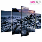PC952 Giants Causeway Ocean Photo Scenic Multi Frame Canvas Wall Art Print