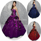 Formal Prom Party Bridesmaid Dresses Ball Gown Quinceanera Dress Stock 6-16