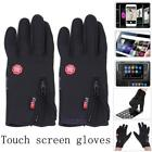 Cycling Driving Gloves Winter Thermal Full Finger Windproof Phone Touch Screen