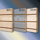SLATWALL PANEL MDF PROMOTIONAL DISPLAY (DOUBLE SIDED)