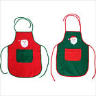 Xmas Santa Claus Party Apron for Pubs Coffee Waiters Kitchen Cooking Baking 1PC