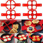 Kitchen Silicone Nonstick Pancake Maker Mould Omelette Egg Ring Mold Tool USA