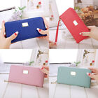 Womens Card Holder Wallet Coin Purse Clutch Zipper Leather Change Phone Long Bag