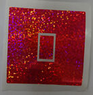 Pink Glitter Effect - Uk Light Switch Stickers, Living Room Bedroom Decor