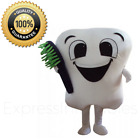 Tooth Mascot - Tooth Mascot Costume - Professional Dentist Mascot Costume