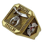 Shriner Masonic Scottish Rite 32 Degree Ring 18K Gold Plated Templar by UNIQABLE