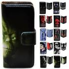 For iPhone X 8 8 Plus - Star Wars Print Flip Wallet Phone Case Cover $14.98 AUD