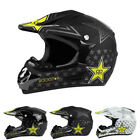Adults Motorcycle Motocross Moto Bike ATV Helmets Off-Road Racing Full Face DOT