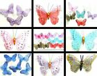 AT LEAST 20% OFF ALL BUTTERFLY MAGNETS - 1 /12 PRETTY GLITZY GAUZE GLITTER NET