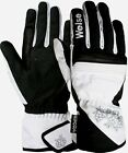 Weise Gemma Ladies Black & White Waterproof Motorcycle Gloves NEW RRP £35.99