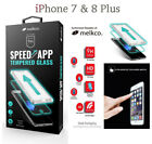 MELKCO 100% Genuine Tempered Glass Film Screen Protector For Apple iPhone 7 8