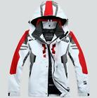 Men warm Hiking ski suit Jacket Waterproof Coat snowboard Clothing hooded Jacket