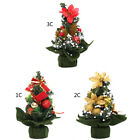 Cute Mini Christmas Tree Standing Tree Xmas Indoor Table Ornament HomeDecor Gift