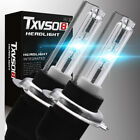 H7 Hid Xenon Headlight Bulbs Kit Metal Base 5000/6000/8000k Bulb 55w/35w