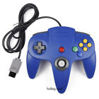 N64 Controller Joystick Gamepad Joypad Long Wired Red Blue For Mario Kart Games