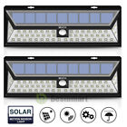 LED Solar Power PIR Motion Sensor Wall Light Outdoor Yard Garden Lamp Waterproof