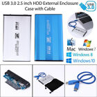 2.5 Inch USB 3.0 SATA Aluminum Alloy Hard Drive External HDD Disk Enclosure Case