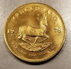 1 oz Fine Gold 1978 South African Krugerrand Coin