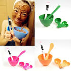 6 in 1 DIY Facial Mask Tool Mixing Bowl Brush Stick Spoon Make Up Tools Flowery