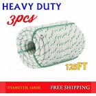 """NEW 3 7"""" x 150? Double Braid Polyester Rope Sling 5900Lbs BREAKING STRENGTH LOT"""