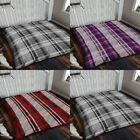 NEW Luxury CHECK Design Super Soft Throw Blanket For Every Part Of Your Home
