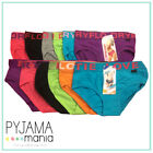 Ladies Cotton Underwear 6 Pack Briefs Thick Waistband Size 8-16