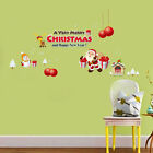 Christmas Decorations Wall Stickers Shop Window Glass Stickers Living Decro