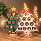 Christmas DIY Wooden Christmas Tree Ornament Gift for Children Home Table Decora